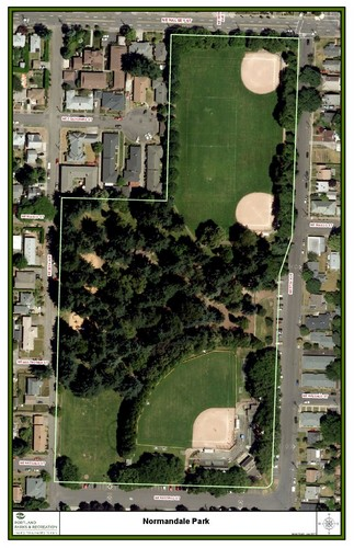 Map of Normandale Park